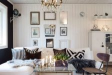 27 a zebra print rug for a chic glam living room