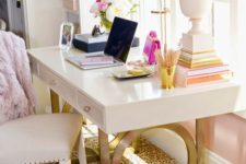 34 if you have a girlish and glam space, a cheetah print carpet is nice and eye-catchy fit