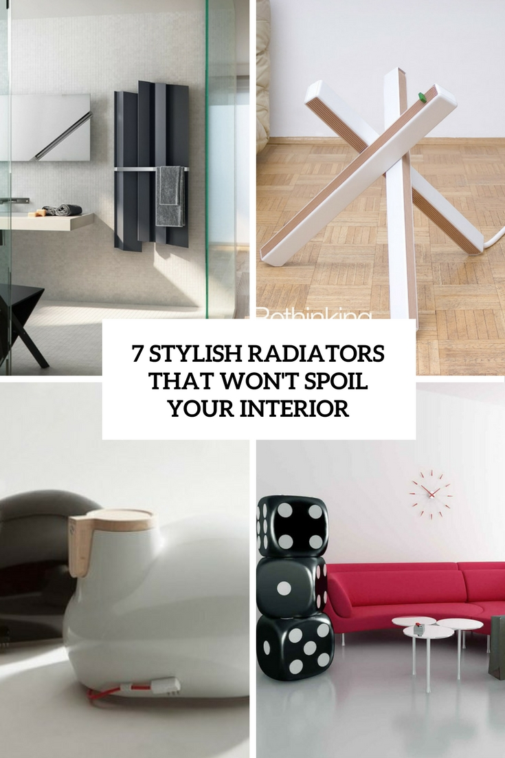 7 Really Stylish Radiators That Won't Spoil Your Interior