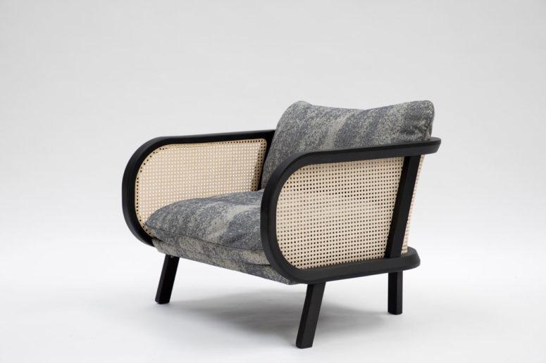 BuzziCane chair by BuzziSpace (via design-milk.com)