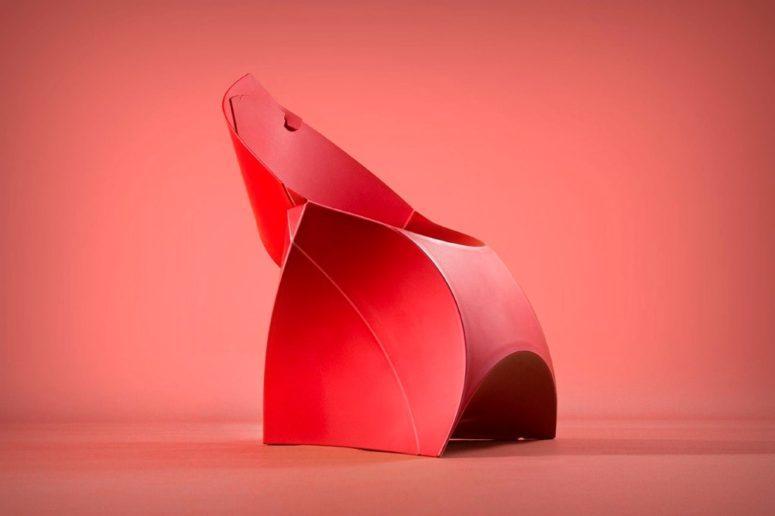 Flux Chair by designers Douwe Jacobs and Tom Schouten (via www.digsdigs.com)