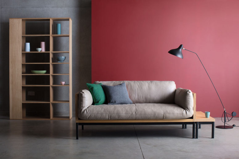Legna Sofa By Theo Williams Studio (via Design Milk.com)