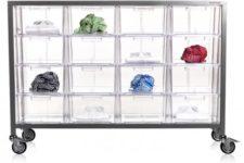 acryl storage unit by Nomess Copenhagen