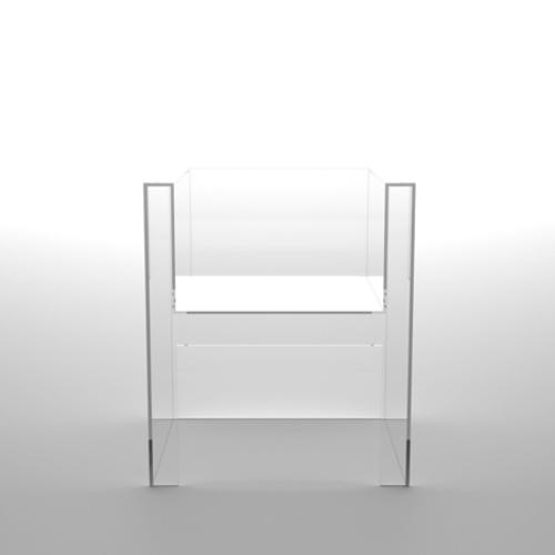 invisible acrylic chair by Tokujin Yoshioka (via www.digsdigs.com)