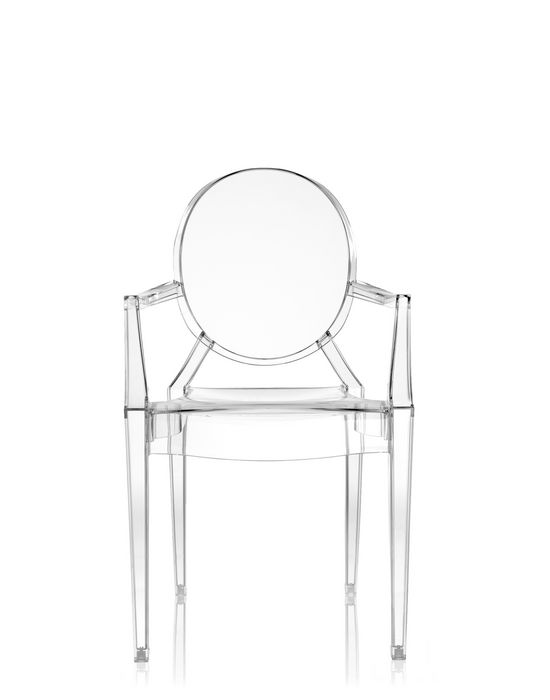 Louis Ghost chair by Kartell (via www.kartell.com)