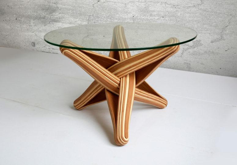 Lock coffee table by J.P.Meulendijks (via https:)