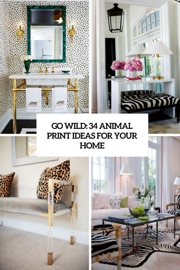 Go Wild 34 Animal Print Ideas For Home Decor Cover