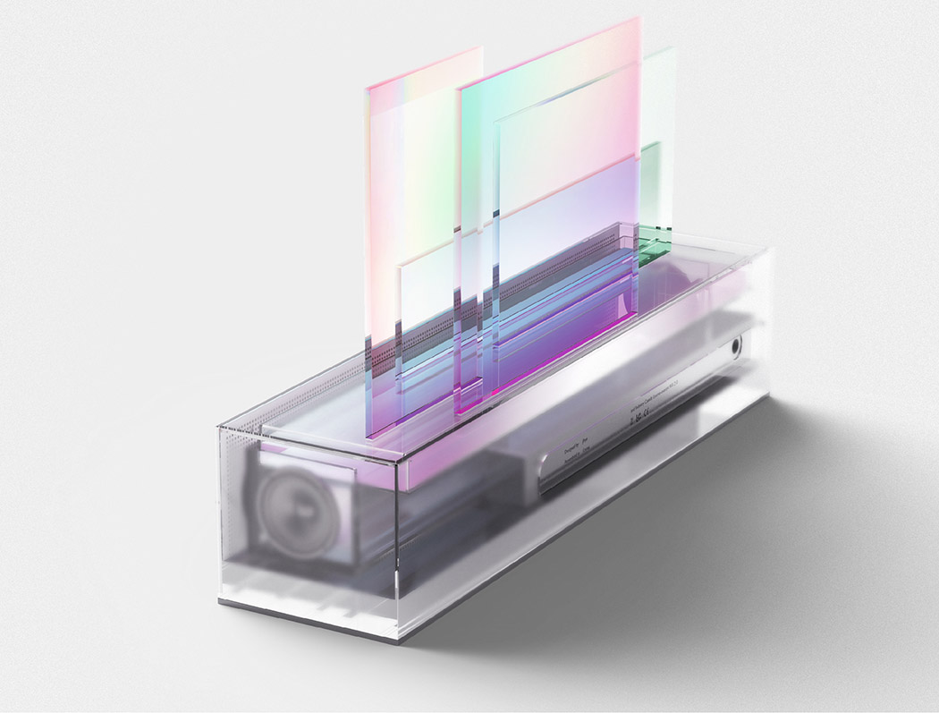 Laier speaker is a modern piece that learns your music tastes and your reaction to various kinds of music