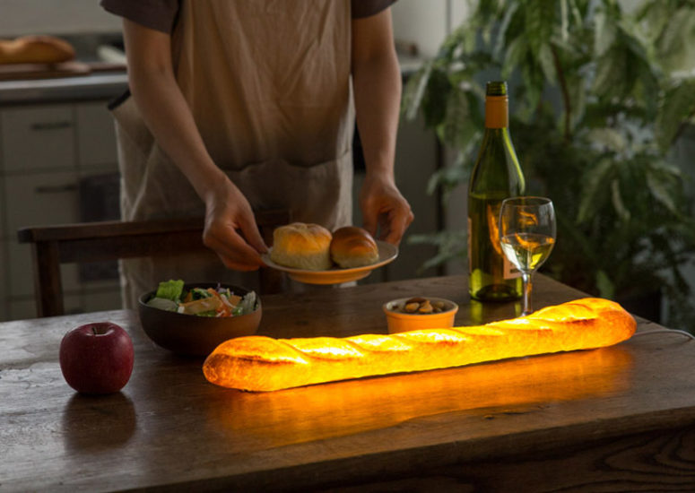 Pampshade Lamp Collection Shaped As Real Bread