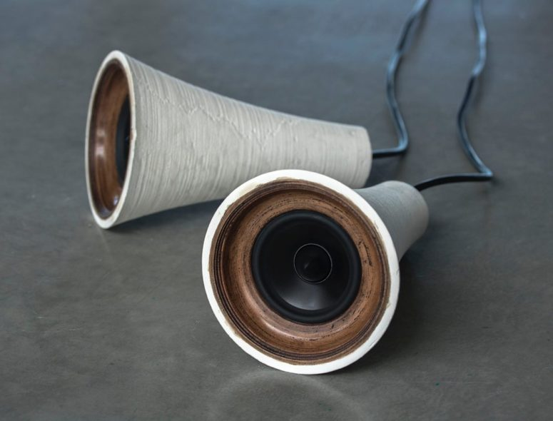Resonance Speakers Made By 3D Printing