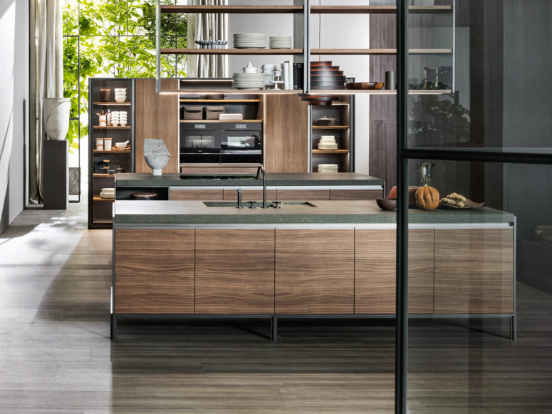 Modern And Industrial VVD Kitchen By Dada