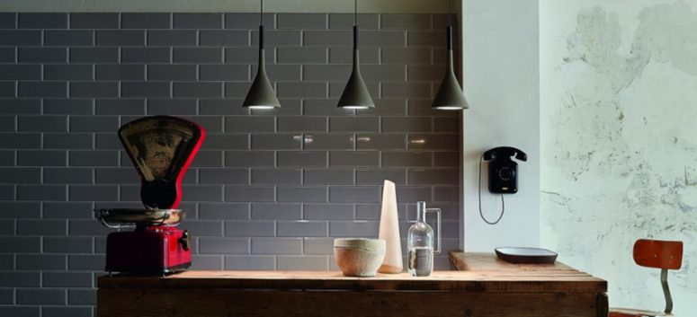 Aplomb is made of concrete and looks very sleek and gorgeous, while mixing light and heavy, refined and industrial