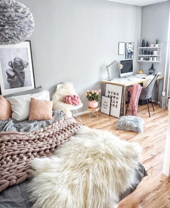 24 Ideas To Organize A Freelance Workspace At Home - DigsDigs on Room Decor Ideas De Cuartos Aesthetic id=24912