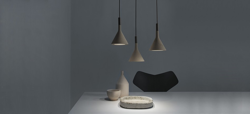 Rock them in clusters or take just one   this lamp won't be unnoticed