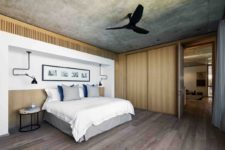 11 The bedroom suites are serene and simple, featuring a minimalist palette of colors