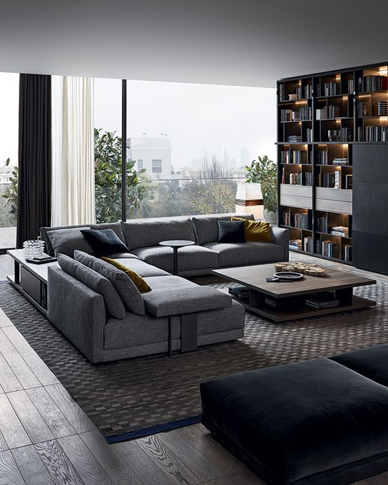 Light Filled Contemporary Living Rooms: 25 Modern Living Rooms That Catch An Eye