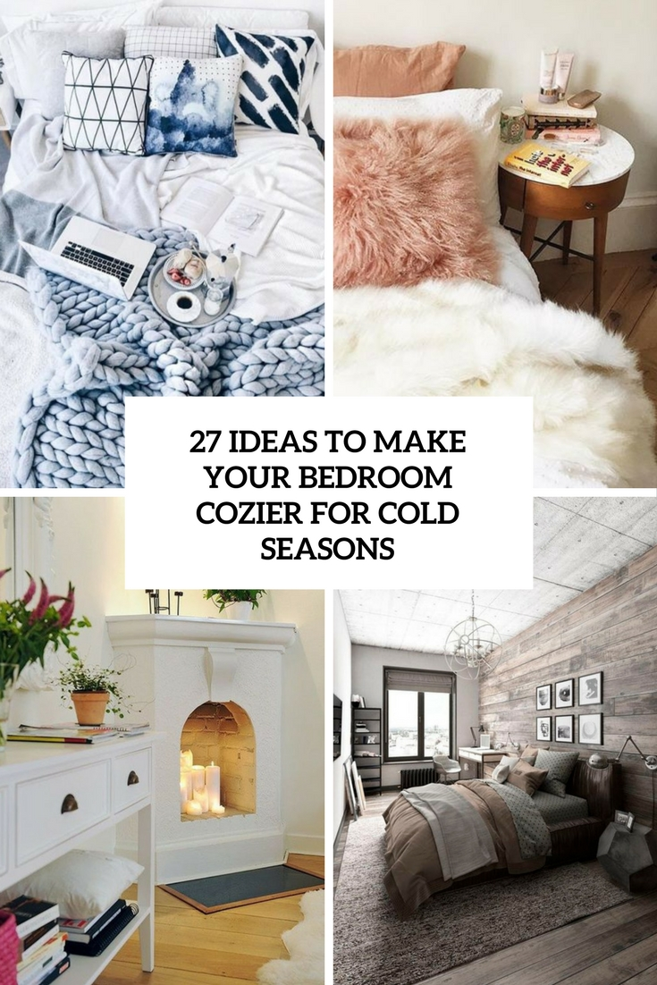 ideas to make your bedroom cozier for cold seasons cover