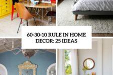 60-30-10 rule in home decor 25 ideas cover