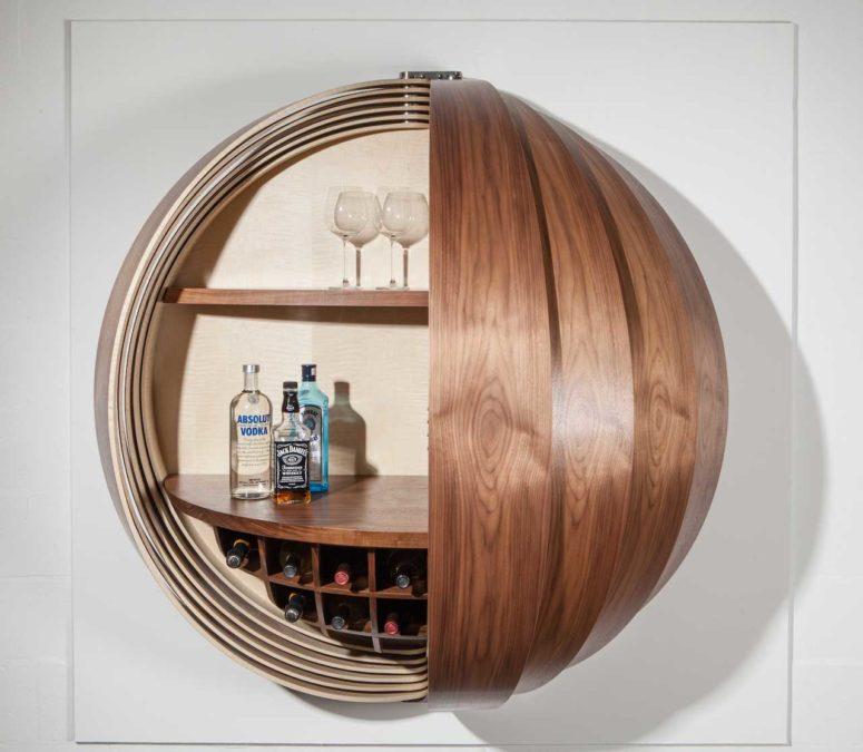 Dime Cabinet By Splinter Works (via design-milk.com)