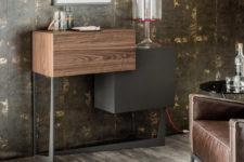 Portos bar cabinet by Andrea Lucatello