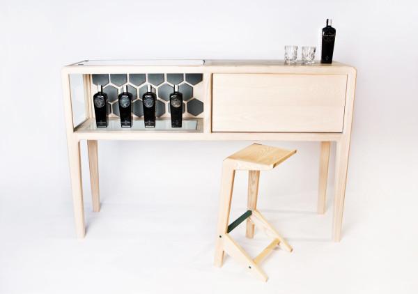 Linnk Kabinet by designer Ian Rouse (via design-milk.com)