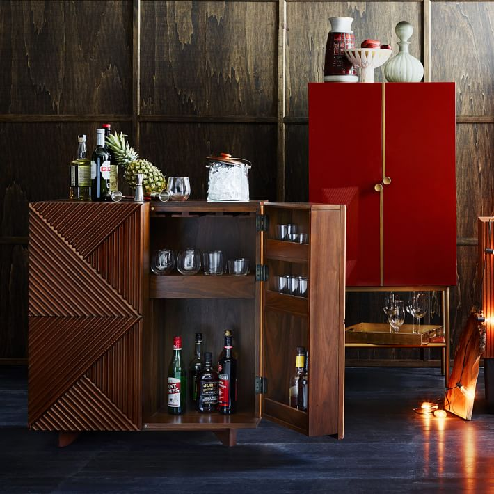 geometric bar cabinet by Rosanna Ceravolo (via https:)