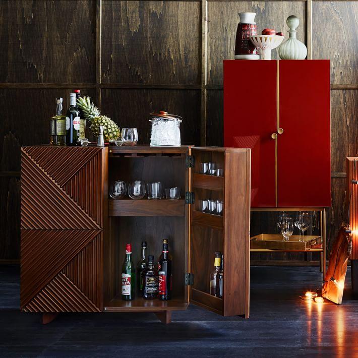 geometric bar cabinet by Rosanna Ceravolo (via https:)