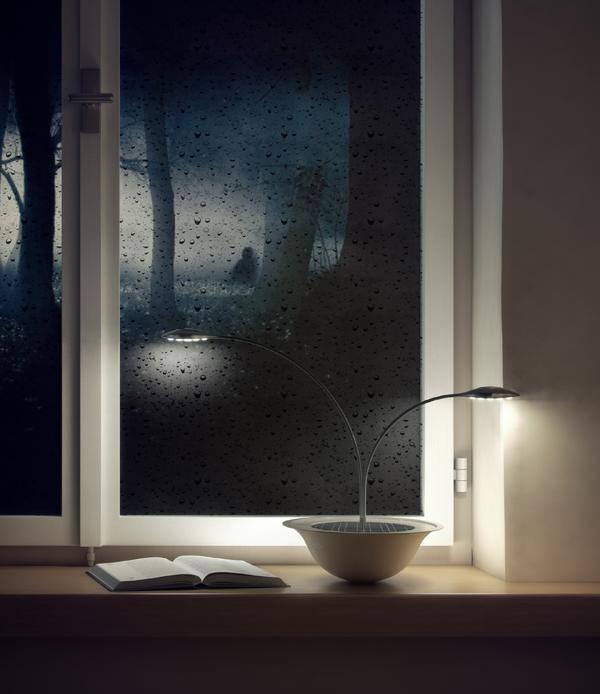 BLUM lamp by OneArtistStudio (via www.yankodesign.com)