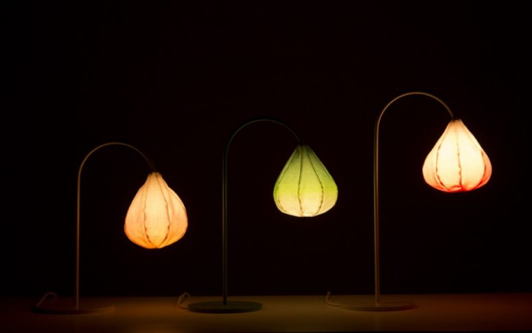 Bloom lamp by Kristine Five Melvaer (via kristinefivemelvaer.com)