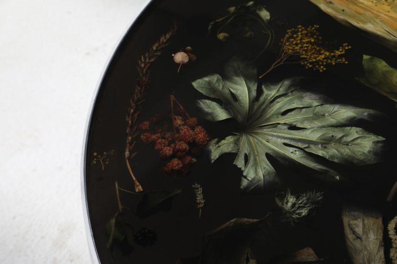 Flora Noir by Marcin Rusak (via www.digsdigs.com)
