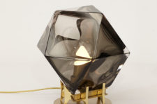Welles double-blown lamp by Gabriel Scott