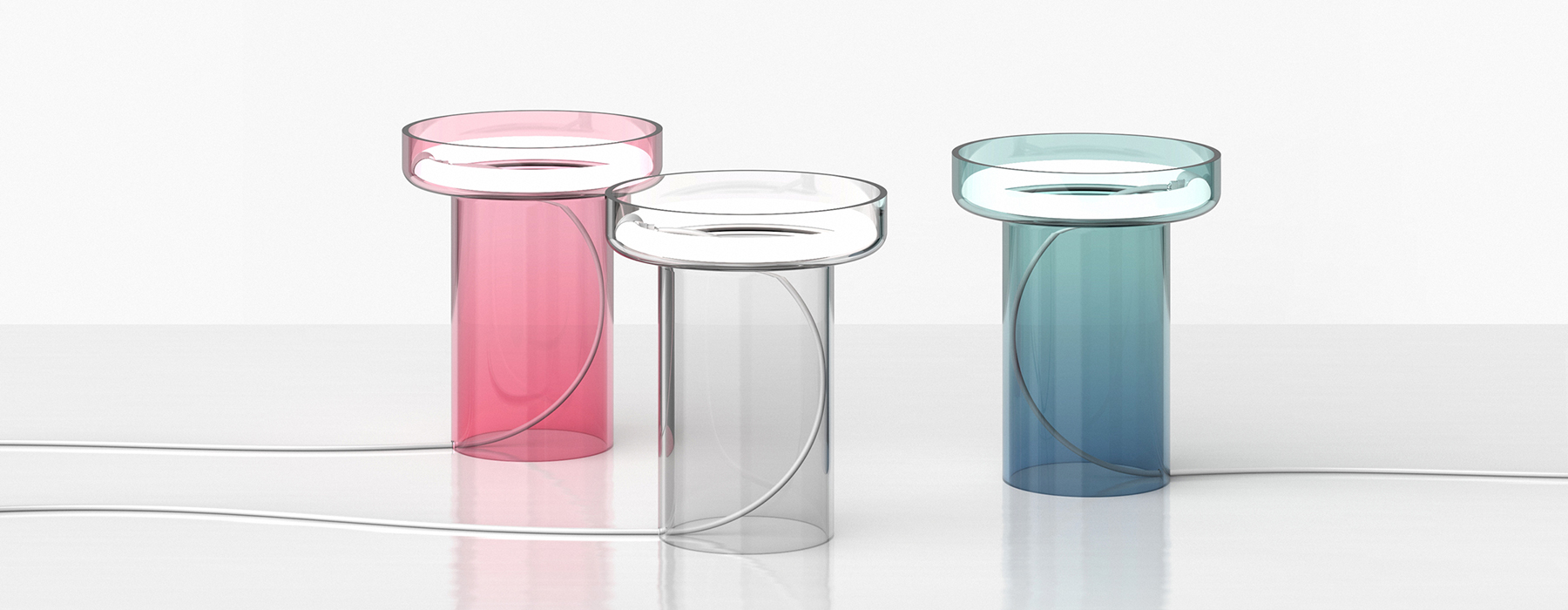 HALO table lamp by Quentin Coster