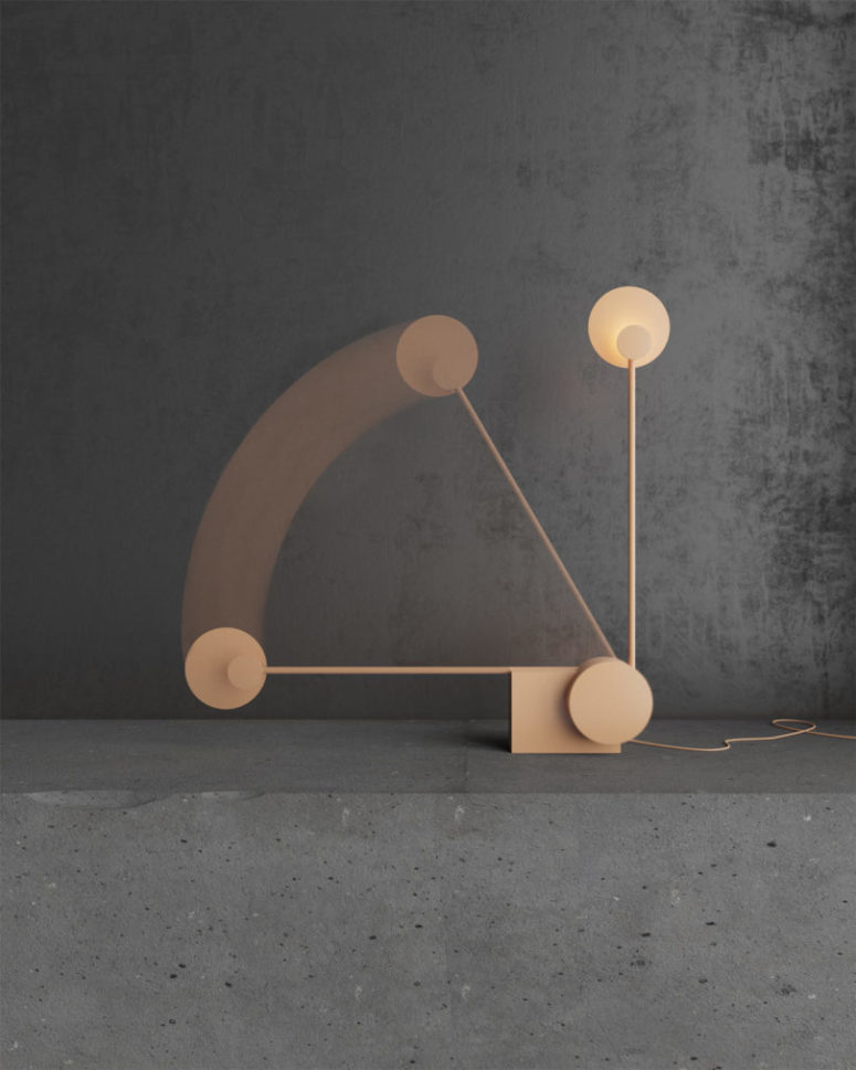 Ra table lamp by Nottdesign  (via www.digsdigs.com)
