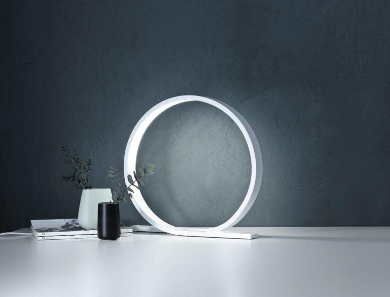 Loop table lamp by Timo Niskanen (via design-milk.com)