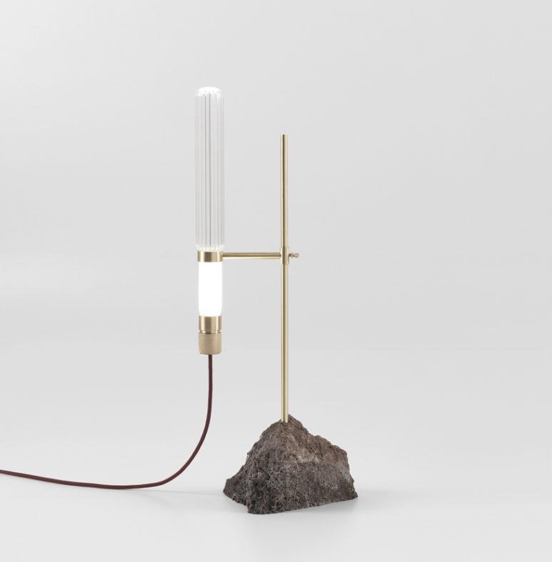 Kryptal table lamp by CTRLZAK (via https:)