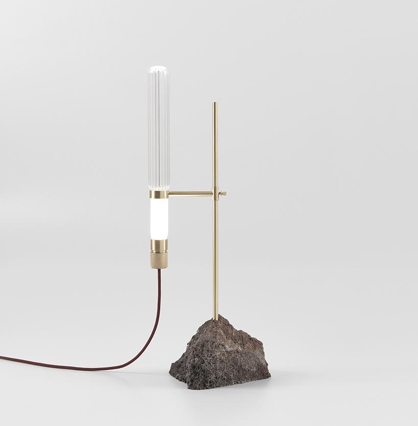 Kryptal table lamp by CTRLZAK