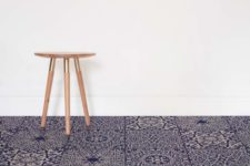 01 Arabesque is part of the vinyl floor collection inspired by the Islamic architecture motifs