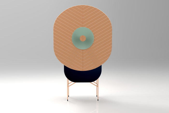 Polifemo is a unqiue and bold storage cabinet inspired by cyclops of Greek mythology, its name is from one legend