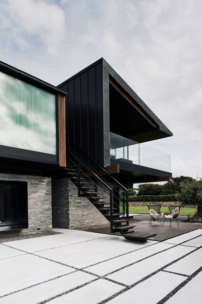 Modern Silver House For Peaceful Life In Wales