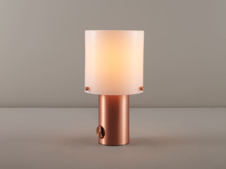 Walter Table Light Combines Vintage With Glamour