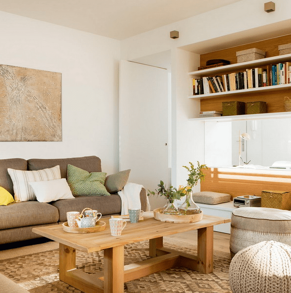 This spacious Spanish apartment is super functional and useful for everyone, from parents working at home to kids and guests