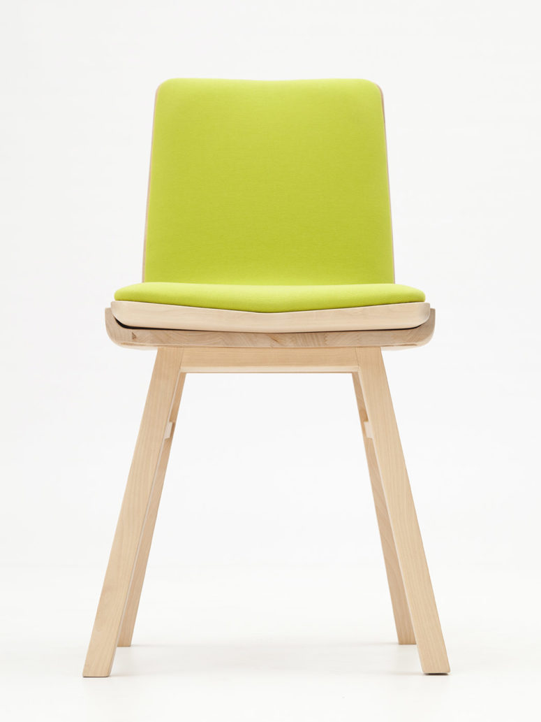 Dividi Chair That Features Two Seats In One - DigsDigs
