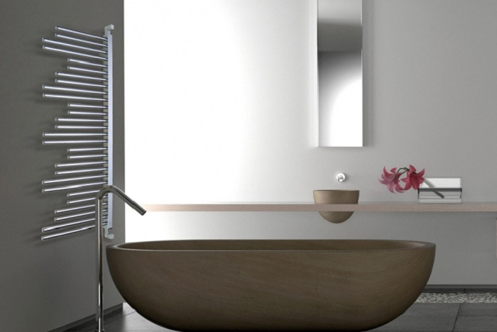 Such radiators are great for most of modern spaces and can easily fit your minimalist space, too