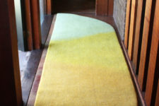 03 Sunrise rug imitates a natural thing and it is a fit for narrow spaces