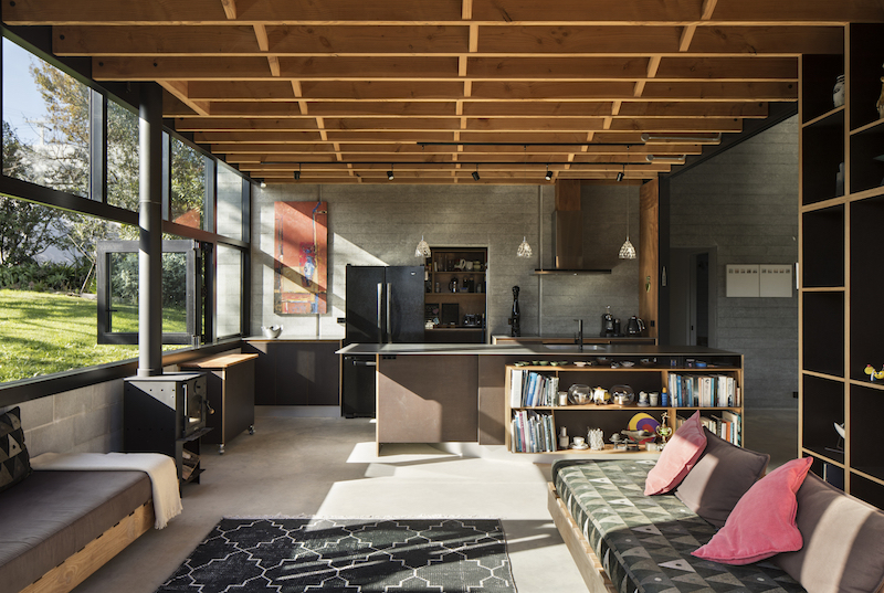 The spaces are generally very cozy and welcoming, whether they're open or enclosed