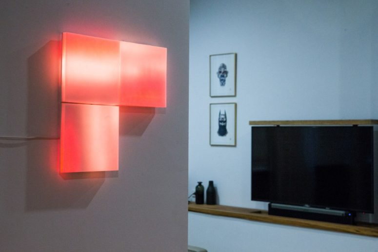 Make your space more eye-catching and bold with these flashing LIFX Tiles