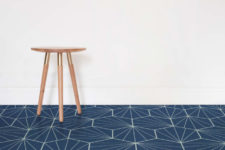 06 Starburst in navy color reminds of the finest designs and looks of mid-century modern style