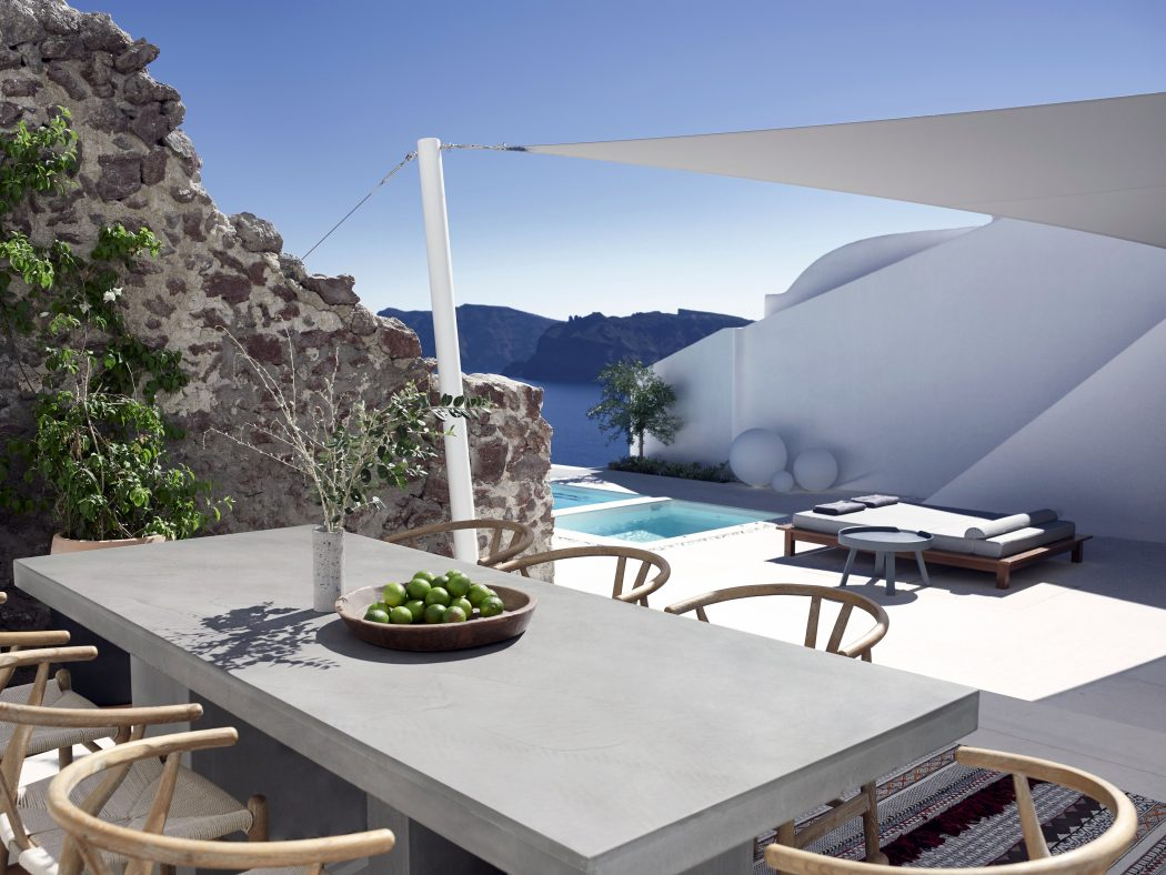 inviting terrace design