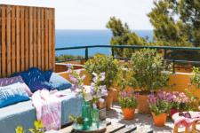 simple terrace desgin