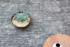 07 Link is a neutral textural rug that catches an eye with its look